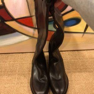 Women's High Thigh Jimmy Choo Boots.